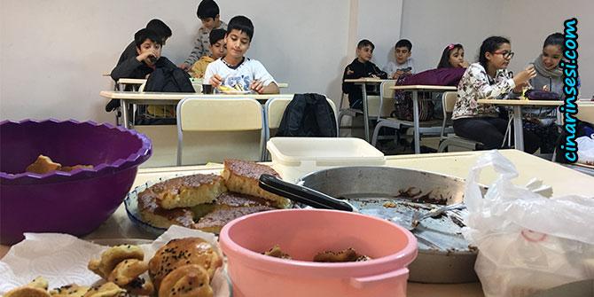 Bilgi Evi öğrencileri yerli malı haftasını kutladı