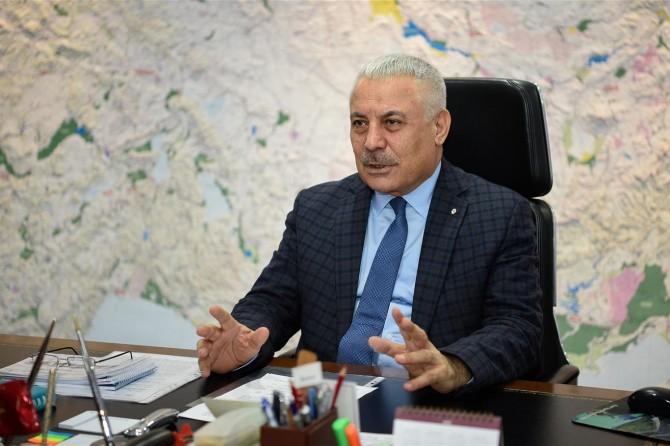 """DSİ Genel Müdürü Aydın: """"Ülkemizi su yatırımları ile 65 yıldır ihya ediyoruz"""""""