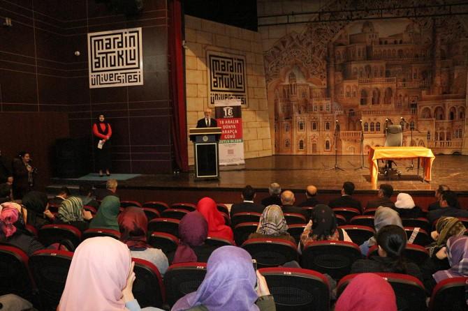 Arapçaya İslam medeniyetinin lisanı olarak bakıyoruz