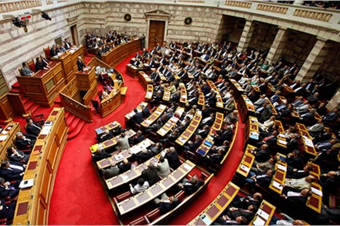Yunanistan'da bütçe onay aldı