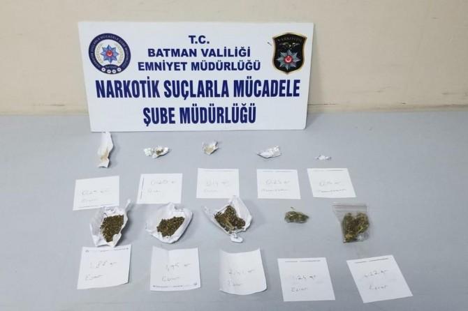 Batman'da uyuşturucu operasyonu: Bir gözaltı