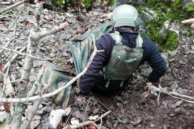 Siirt'te PKK'nin kış üslenmesi çökertildi