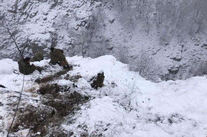 Tunceli Ovacık'ta mağara içerisindeki PKK'liler öldürüldü