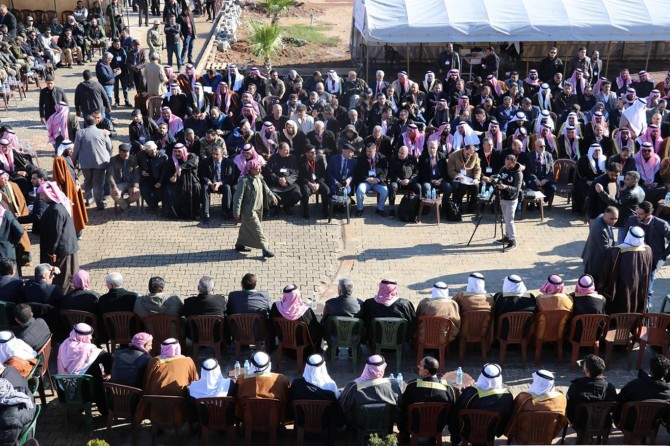 Syrian tribes meet in Syria's Azez