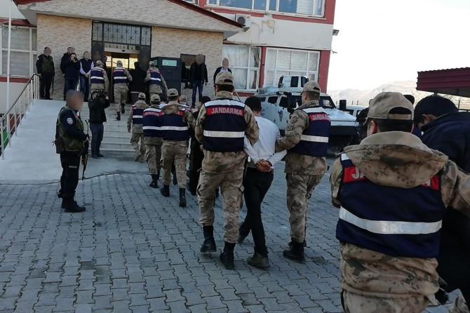 Hani'deki saldırıya ilişkin 7 kişi tutuklandı