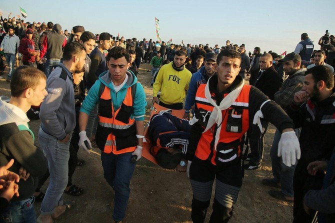 Three Palestinians martyred by zionists in Gaza Great Return March