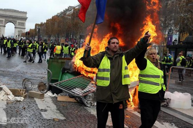The yellow vest put 43,000 people on temporary unemployment in France