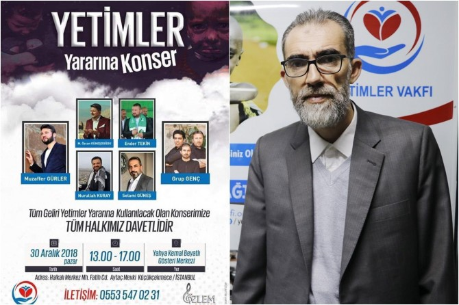 Concert to be held in Istanbul for the benefit of orphans