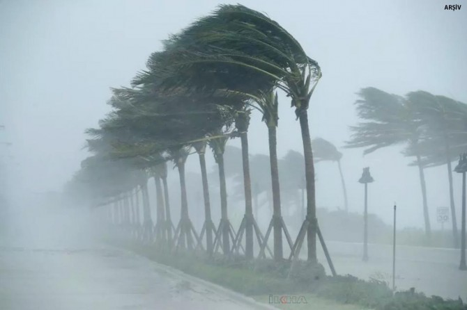 AFAD'tan Edirne'de fırtına uyarısı