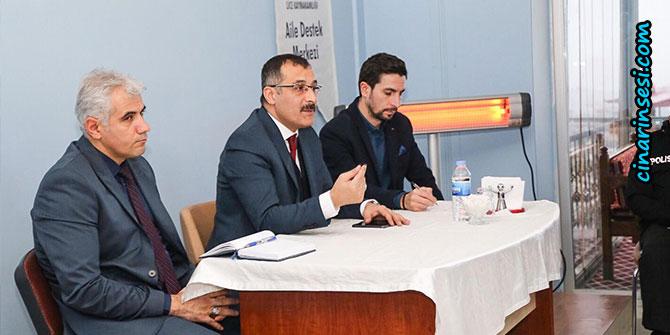 Lice'de halk toplantısı yapıldı