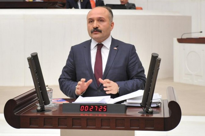 MHP'li Milletvekili Erhan Usta disipline sevk edildi