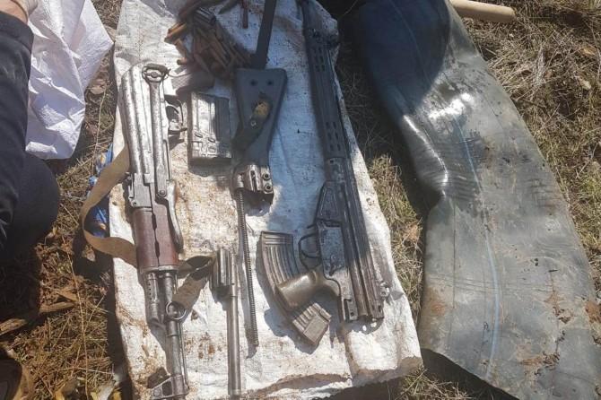 Hakkari Şemdinli'de silah ve mühimmat ele geçirildi