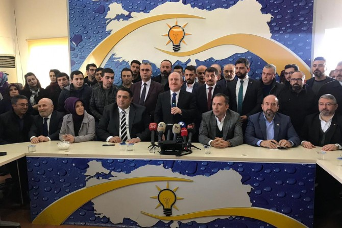 AK Parti Çorum İl Başkanı Mehmet Karadağ istifa etti