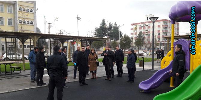 Bismil'de kardeşlik parkı hizmete açılıyor