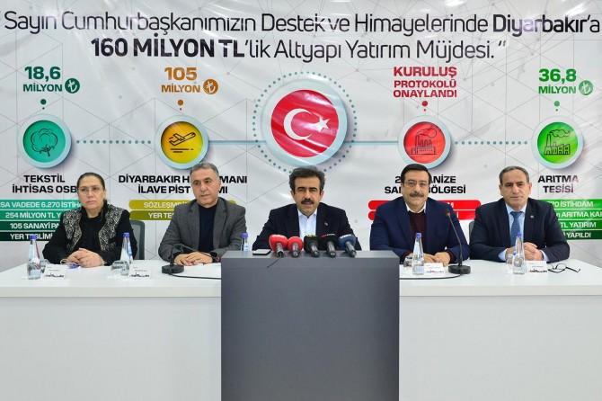Diyarbakır'da dev yatırımlar için protokoller imzalandı