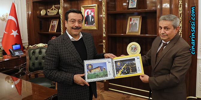 Diyarbakır Büyükşehir Belediyesi posta pulu bastırdı