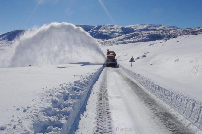 Meteorolojiden bazı iller için yoğun kar yağışı uyarısı