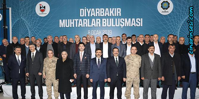 Diyarbakır'da muhtarlar buluşması gerçekleştirildi