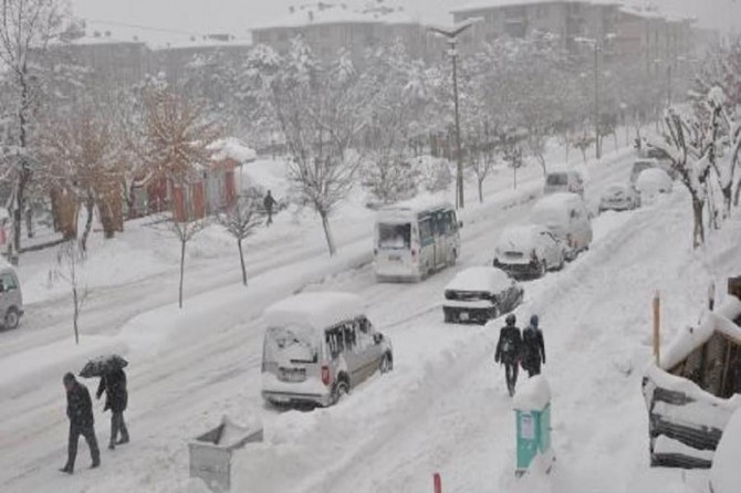 37 ilde okullara kar tatili