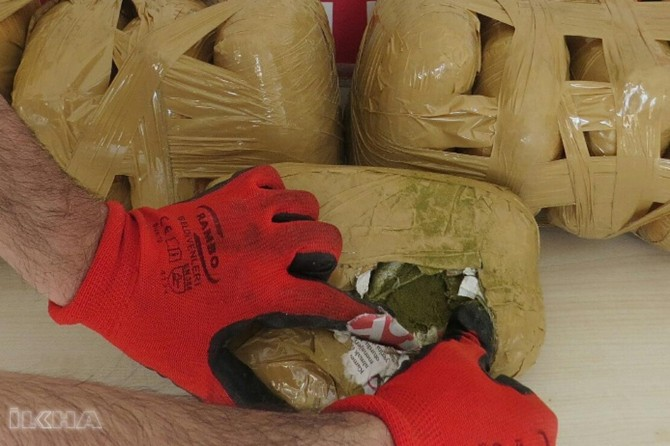 Over 20 tons of drugs seized in 2018