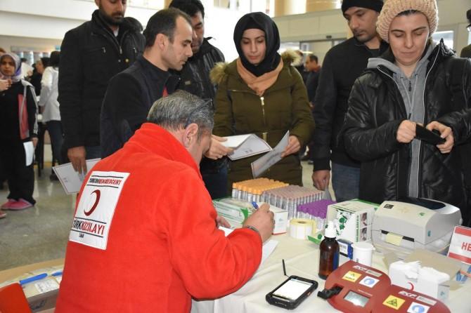Gönüllü kök hücre bağışında bulundular