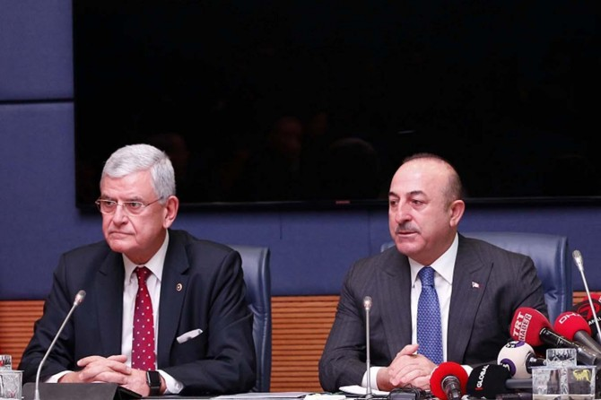 Minister Çavuşoğlu evaluates US decision to withdraw from Syria