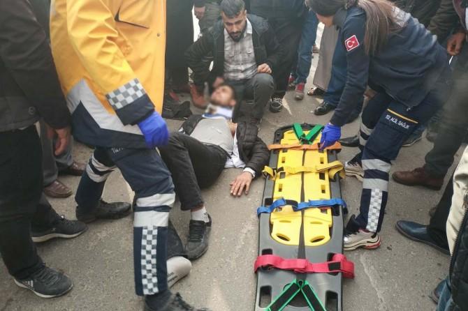 Batman'da trafik kazaları: 1 ağır yaralı