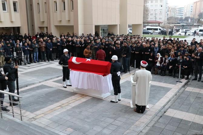 Gaziantep Vali Yardımcısı Ahmet Turgay İmamgiller'in cenazesi Sivas'a gönderildi