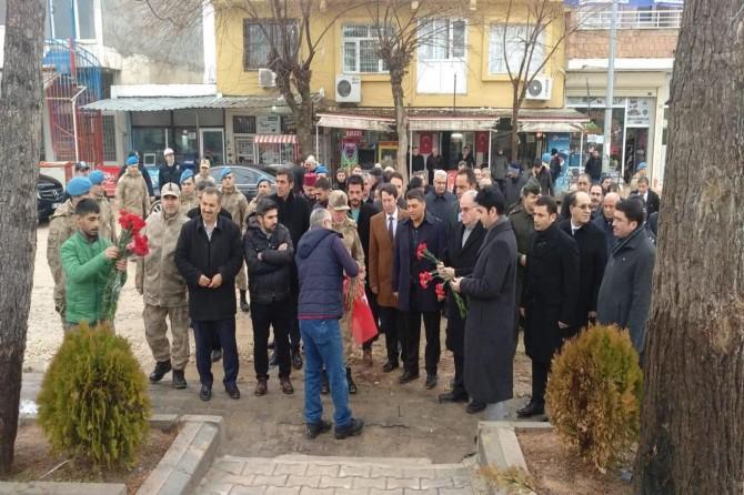 Çınar'daki patlamada hayatını kaybedenler anıldı
