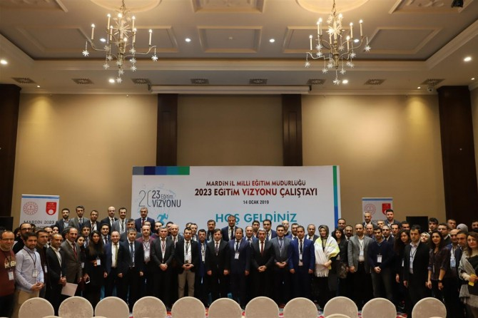 """Mardin'de """"2023 eğitim vizyonu"""" çalıştayı"""