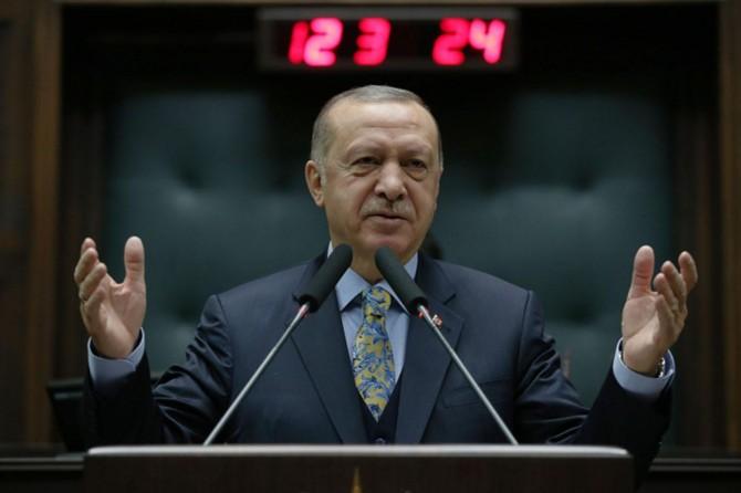 Erdoğan: Suriye krizini topraklarımıza taşıma hesabı yapıyorlar