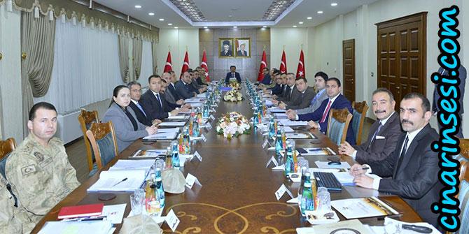 Diyarbakır'da seçim güvenliği ve koordinasyon toplantısı yapıldı
