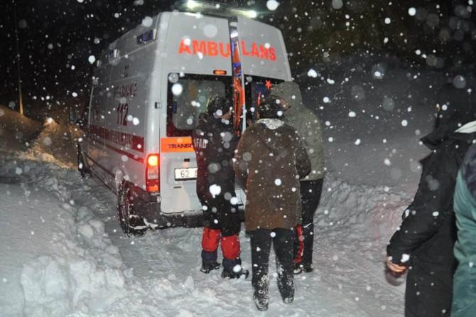 Kar nedeniyle kapanan Tunceli-Ovacık yolu açıldı