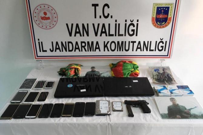 Van'da PKK operasyonu: 20 gözaltı