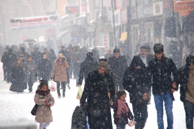 Meteorolojiden kar, kuvvetli rüzgâr ve don uyarısı
