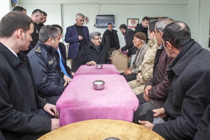Van Valisi Mehmet Emin Bilmez ilk ilçe ziyaretini Saray'a gerçekleştirdi