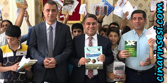Bismil Belediyesinden Karneni getir, Kitabını Götür kampanyasına destek