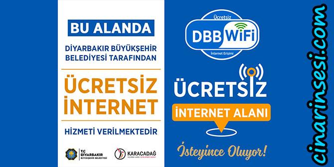 Diyarbakır'da park ve meydanlarda ücretsiz internet dönemi