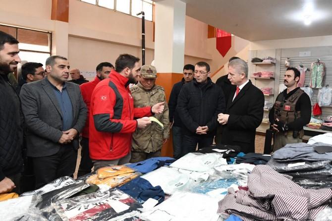 Gaziantep Valisi Davut Gül, El Bab'ı ziyaret etti