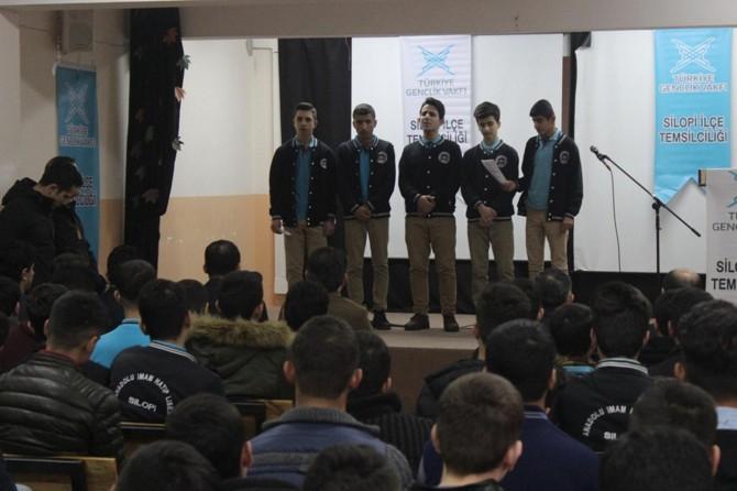 Silopi'de ilahiler eşliğinde öğrencilere karne dağıtıldı