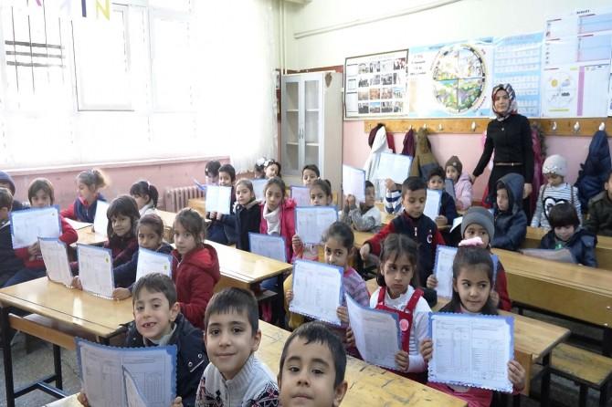 Şanlıurfa'da 687 bin öğrenci karne aldı