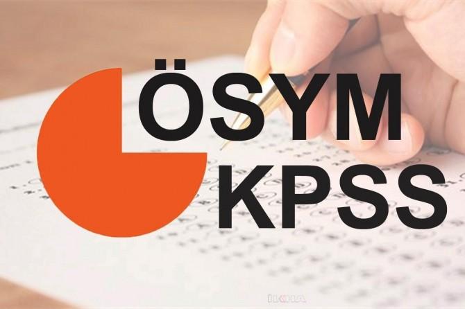 KPSS branş bazında sıralamalar güncellendi