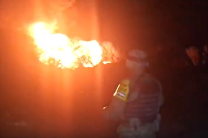 Meksika'da akaryakıt boru hattında patlama: 21 ölü 71 yaralı