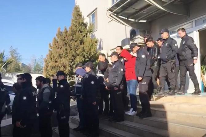 Şanlıurfa ve Mersin'de fuhuş operasyonu: 15 tutuklama
