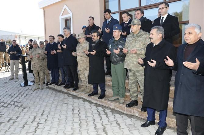 Diyarbakır'da Jandarma Mescidi ibadete açıldı