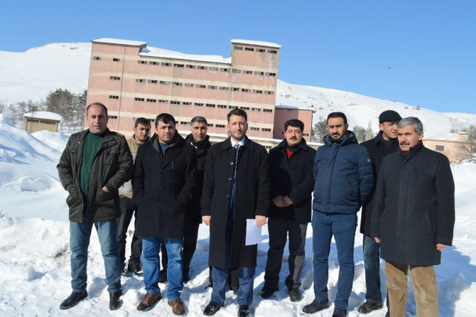 Bitlis'teki uyuşturucu üssü metruk binalar rehabilite edilmeli