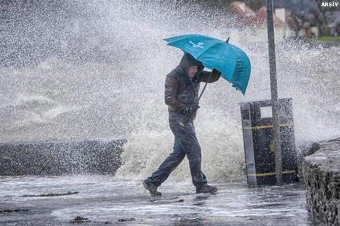 Meteorolojiden çok kuvvetli sağanak yağış uyarısı