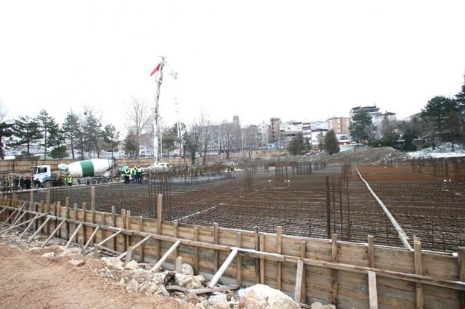 Suluova'nın en büyük camisinin temeli atıldı