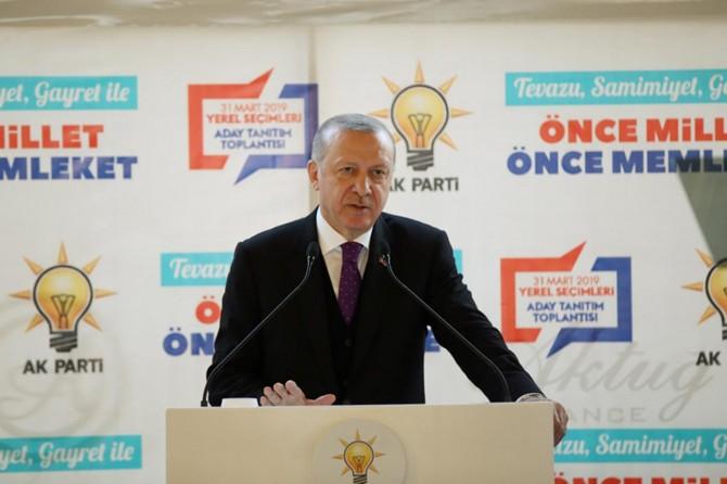 Erdoğan: Ne çektiysek hesabi olanlardan çektik yolda bıraktılar