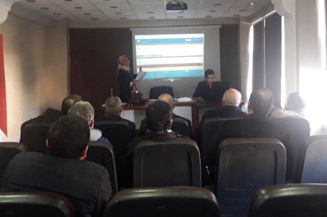 Siirt'te bitki koruma ürünleri toplantısı yapıldı